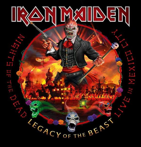 Iron Maiden: Nights Of The Dead - Legacy Of The Beast: Live In Mexico City vyjde 20.11.