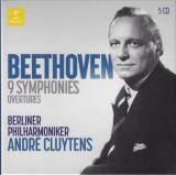Beethoven Ludwig Van-9 Symphonies, Overtures (5CD)