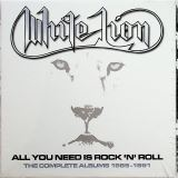 White Lion-All You Need Is Rock 'N' Roll - The Complete Albums 1985-1991 (5CD Clamshell Boxset)