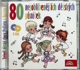 Různí interpreti 80 nejoblíbenějších dětských písniček