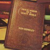 Hensley Ken Proud Words On A Dusty Shelf (Gold vinyl)