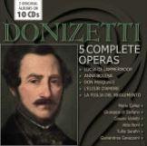 Donizetti Gaetano-Original Album Collection - 5 Complete Operas (10CD)