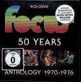 Focus 50 Years Anthology 1970-1976 (Box Set 9CD+2DVD)