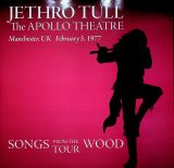 Jethro Tull Apollo Theatre Manchester, UK February 5, 1977