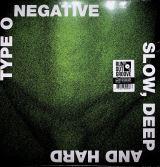 Type O Negative Slow Deep And Hard 30th Anniversary (Green & Black Vinyl Album)