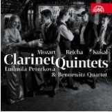 Mozart Wolfgang Amadeus Klarinetové kvintety