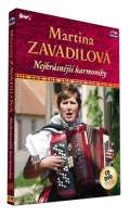 Česká muzika Nejkrásnější harmoniky - CD+DVD