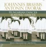 Brahms Johannes Brahms: Hungarian Dances - Dvořák: Slavonic Dances