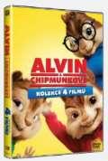 Becker Walt Alvin a Chipmunkové 1-4 - 4DVD