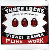 Visací Zámek-Three Locks