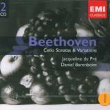 Beethoven Ludwig Van Cello Sonatas & Variations