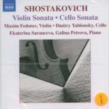 Naxos Cello & Violin Sonatas
